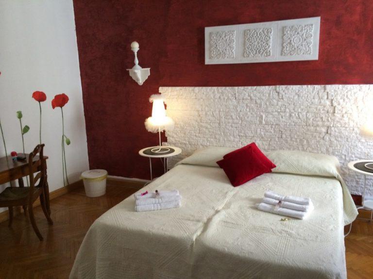 Schlafzimmer Abatea B&B Venedig