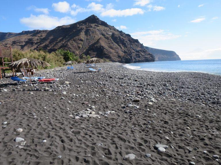 Strand von el Cabrito la Gomera