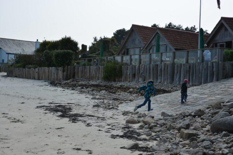 Ruin Beach Café, Tresco