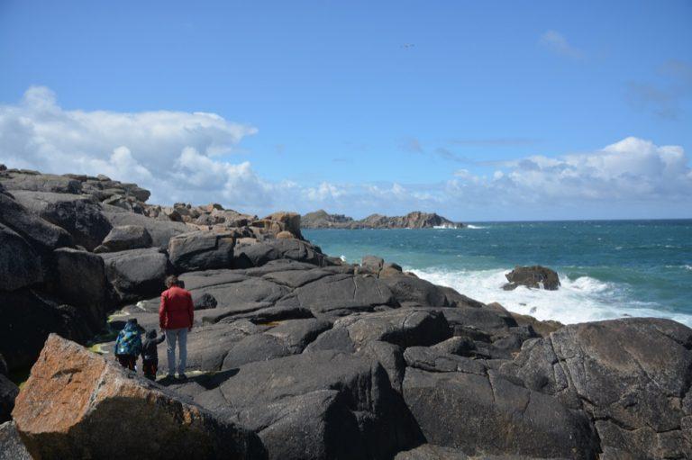 Klippen im Norden von Tresco, isles of Scilly