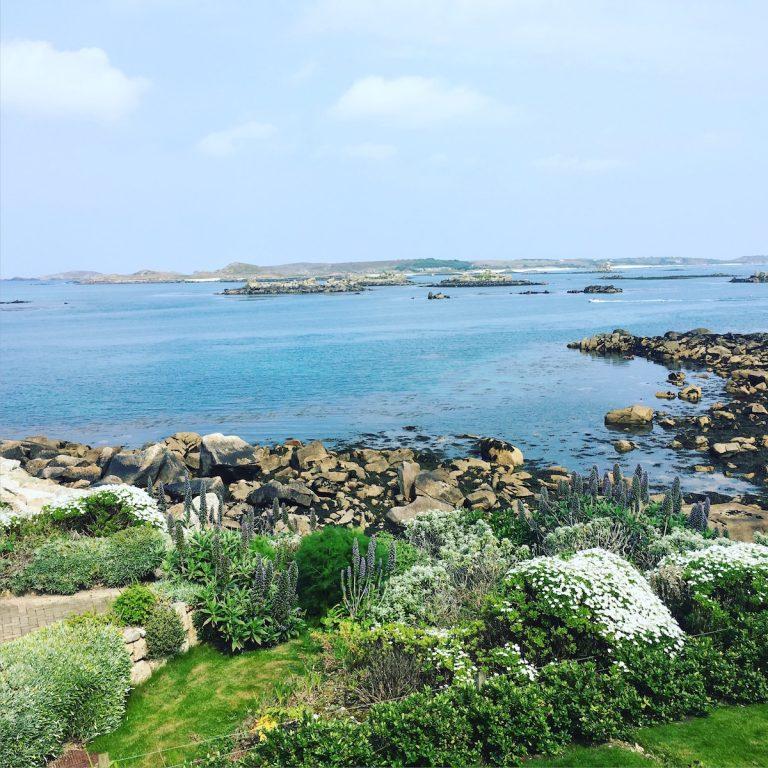 """Blick von unserem Sea Garden Cottage """"Lobster"""""""