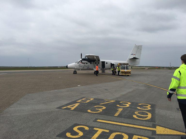 Flug auf die Isles of Scilly