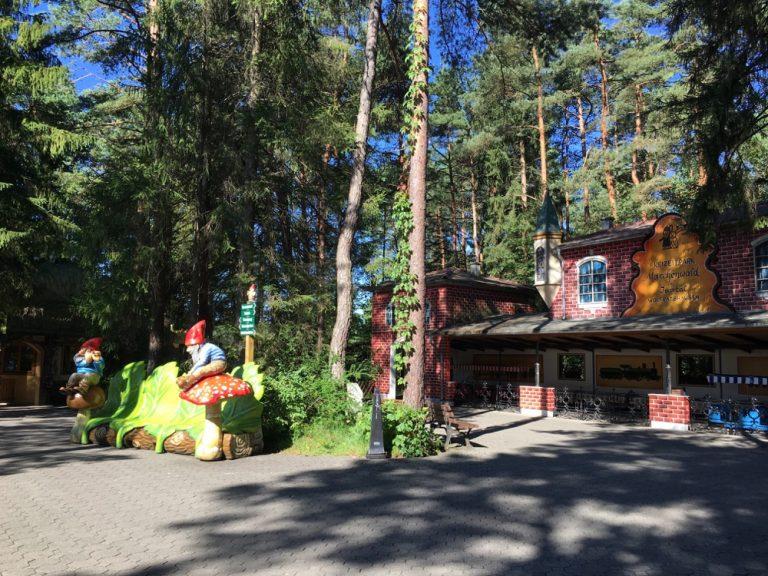 Eingang Märchenwald im Isartal, Freizeitpark Wolfratshausen