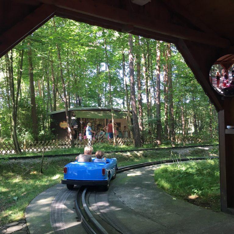 Oldtimer Fahrt, Märchenwald im Isartal