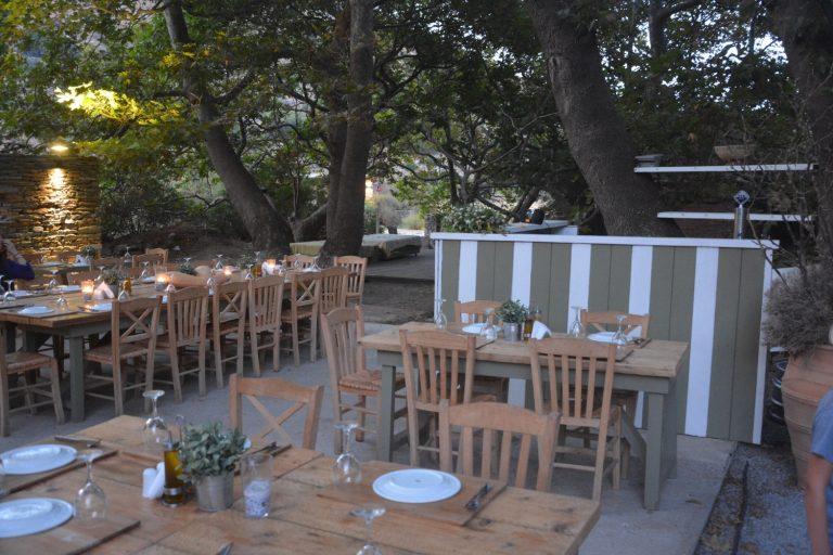 Restaurant unter den Bäumen, Onar Andros