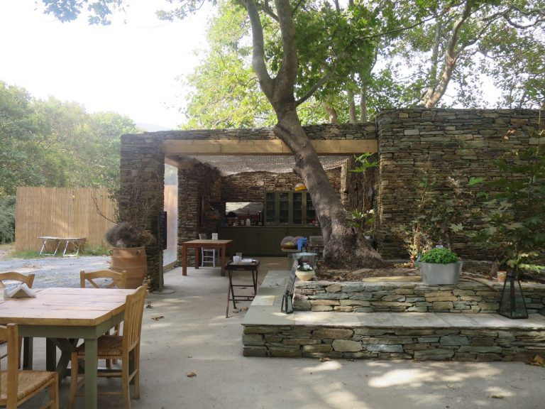 Küche und Büffet Bereich, Onar Andros