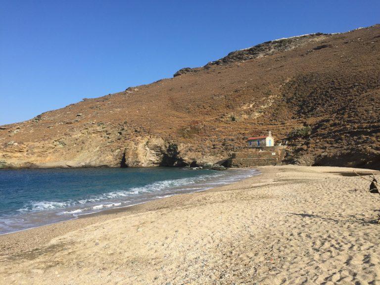 Ahla (Achla) Beach, Onar, Andros