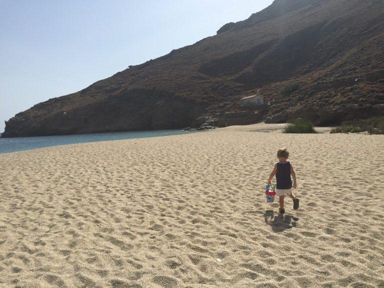 Ahla Beach, ONar, Andros