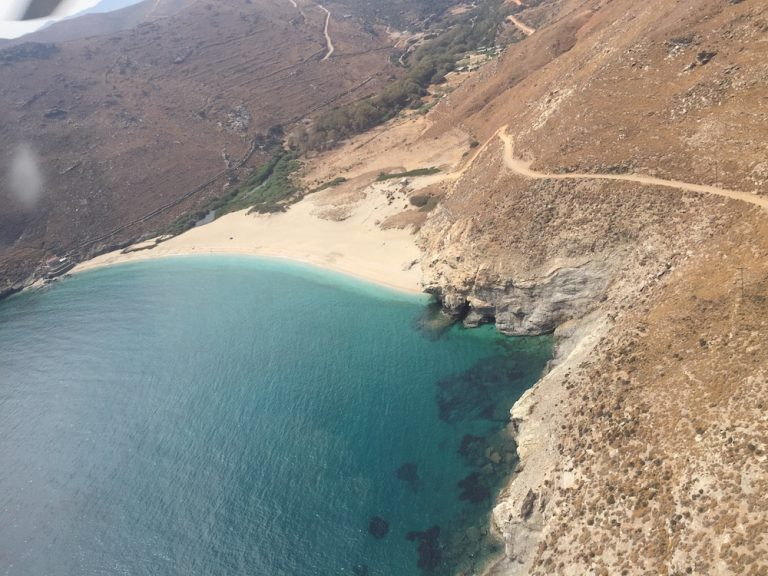 Ahla Beach and Onar, Andros