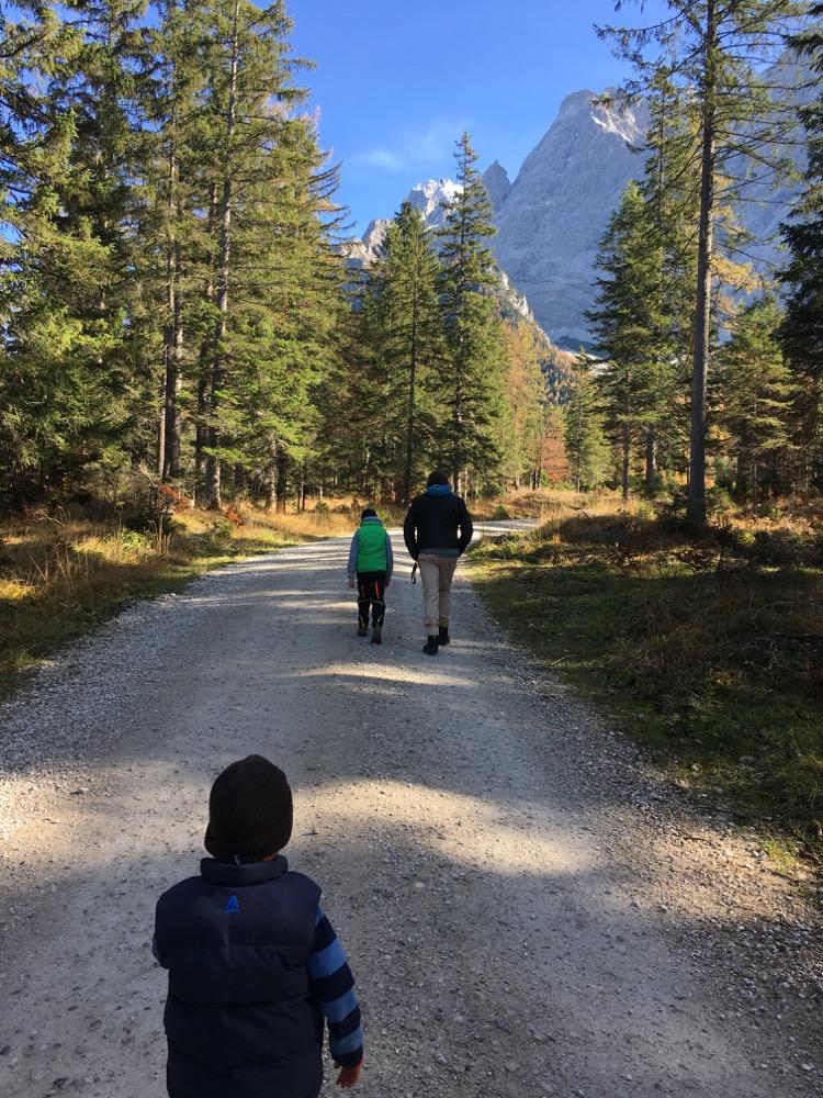 Wanderung zur Gamsalm