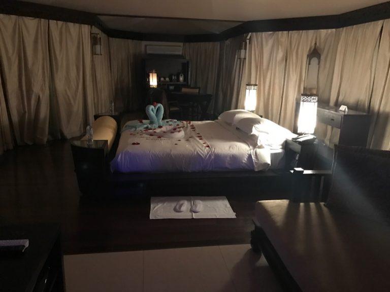 Bedroom, Tented Pool Villa, Al Wadi Desert Ras Al Khaimah