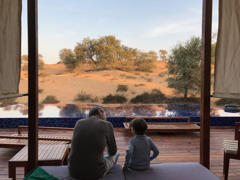 Al Wadi Desert, View from the Terrace