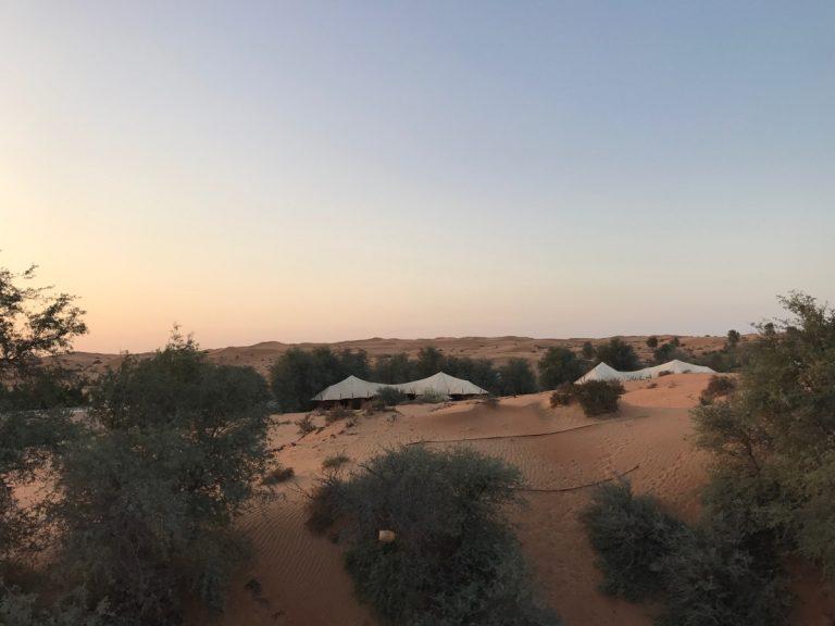 Ras al Khaimah tented pool villa, al Wadi Desert