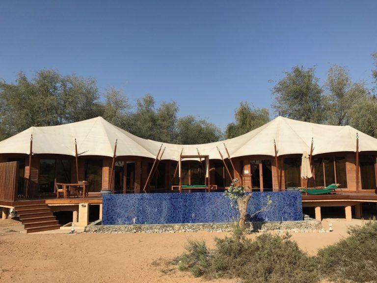 Al Khaimah Tented Pool Villa, al Wadi Desert
