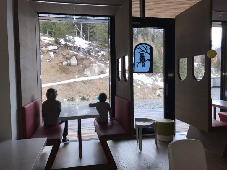 Im Kinderrestaurant - Gradonna Mountain Resort
