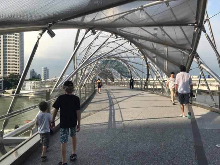 Helix Brücke Singapur